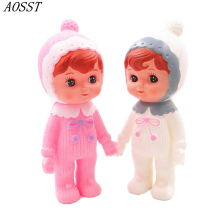 (AOSST) Plastic Sweet Cute Model Vintage Fashion Doll Interactive Doll Baby Doll decor furnishing articles Birthday girl gift(China)