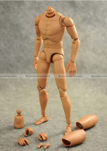 1/6 Male Muscle Muscular Nude Figure Body fit hot toys head and parts 70115319