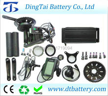 8fun/bafang 36V 500w bbs02 motor kit and 36v 12ah rear rack electric bike lifepo4 battery pack(China)