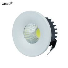 ZINUO 5pcs 3W COB Mini Led Spot light Mini Led Downlight Cabinet Lamps AC85-265V Led Ceiling Recessed Downlight With Led Driver(China)