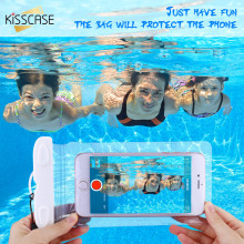 KISSCASE Waterproof Case For iPhone 6 6s 7 Plus Cover Swimming Diving Pouch Water Proof Bag For iPhone 7 7 Plus waterproof Case(China)