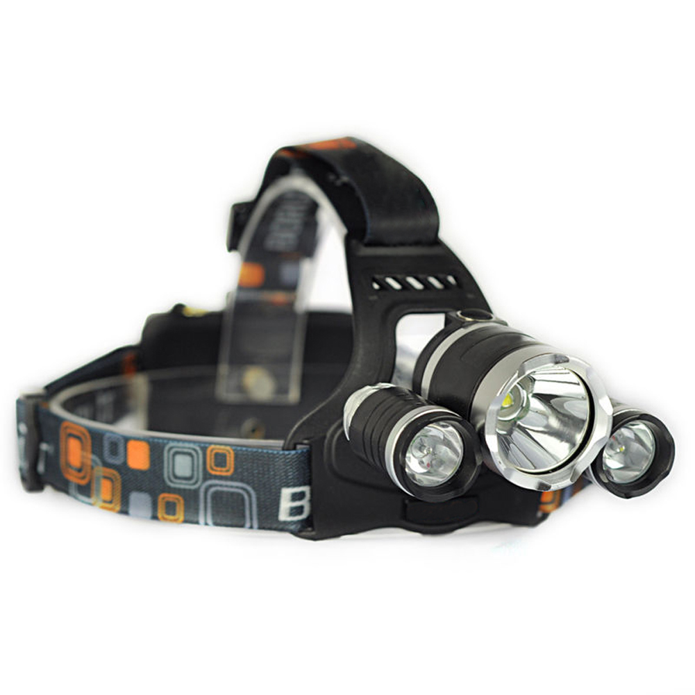 +Hot Sale+ 2*XM-L T6+1*T2 Headlamp Rechargeable LED Head Torch+Charger Cycling/Hiking #<br><br>Aliexpress