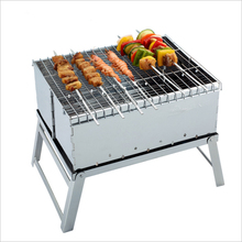 mini foldable oxford bag barbecue stove/Healthy efficient outdoor grill charcoal BBQ grill box