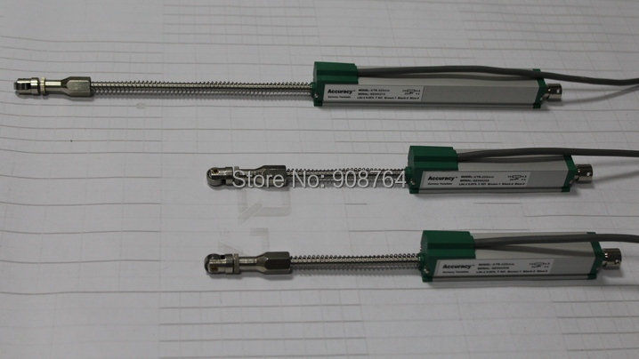 linear displacement  sensor electronic ruler 25mm displacement transducer scale position indicators injection molding machine<br>