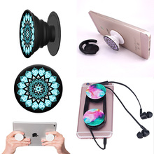 2017 Popsockets car phone holder silicone flexible mobile cellphone desktop stand desk table Smartphone Universal phone holder