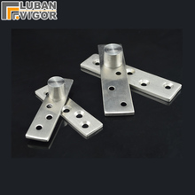 Stainless steel  Rotating shaft/hinges,Eccentric shaft,Wooden door hidden hinge,easy to install , Mute,door hardware