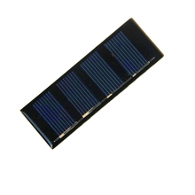 Big Sale 24PCS/Lot Mini Solar Panel 0.2W 2V 78.8*28.3MM Epoxy Solar Module Polycrystalline Silicon Solar Cell Free Shipping