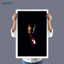 Marvel Movie Manway Comics Superhero Iron Man Poster Image Wall Art Print Canvas Painting Mural Children Bedroom Home Decor(China)
