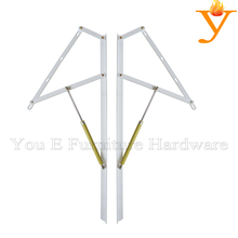 1200mm Length Furniture Parts With Extendable Adjustable Cylinder Lift Gas Spring A04