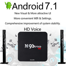 Docooler M9S-PRO 1G/8G 4K Set-top Box Smart Android TV Box Android 7.1 Amlogic S905X Quad Core PC WiFi H.265 DLNA Miracast(China)