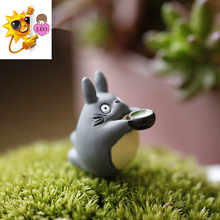 Hot Cartoon Anime 2CM My Neighbor Totoro With Bowl Action Figure Models Doll Funko Pop Collection Kid Toys Gift Brinquedos PY044