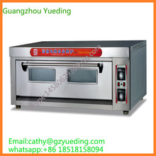 Stainless Steel Heavy Duty 1 Layers 4 Trays Gas/Electric Deck Oven(China)