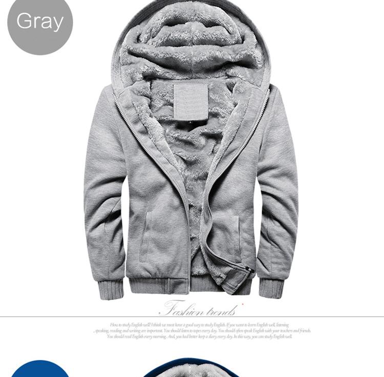 Hoodies Sweatshirt Men 17 New Autumn Winter Warm Thick Solid Casual Brand Tracksuit Men's Sweatshirts Hooded Plus Size 5XL 5