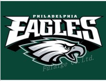 Philadelphia Eagles Flag 3x5 FT 150X90CM Banner 100D Polyester flag brass grommets(China)
