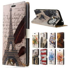 "( Google Pixel ) Case 5.0"" New Feather Clock Leather Wallet Flip Coque Cover sFor Google Pixel XL 5.5"" Mobile Phone Cases Funda(China)"