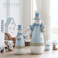 Buy Miz 1 Piece Christmas Decoration Snowman Figurine Christmas Gift Children Resin Figure 2 Sizes Snowman Doll for $13.86 in AliExpress store