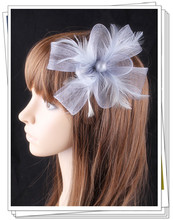 PROMOTION Ladies cheap feather flowers  fascinators for wedding hats bridal hair accessories cocktail hats  P04