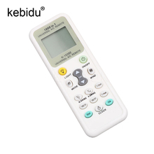 kebidu Universal Air Condition Remote Control K-1028E With LCD Screen A/C Practical wireless Controller Low Power Consumption
