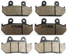 FL+FR+R Brake Pad Set fit HONDA 1500 GL J / K / SEM / SEN / SEP Goldwing GL1500 1995 1996 1997 1998 1999 1988 - 2000(China)