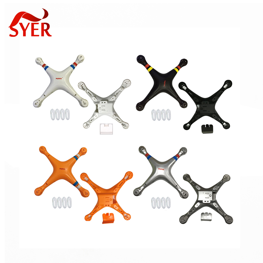 SYMA X8 X8G X8HC X8HG Slive Color Main Body shell Cover Quadcopter Fuselage Drone Spare Parts 2.4G 4CH 6-Axis RC Helicopter<br><br>Aliexpress