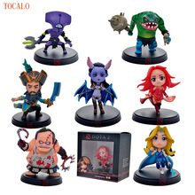 11 Types!!! 8-12cm Dota 2 Figure Kunkka Lina Pudge Tidehunter Queen of Pain Crystal Maiden Boxed PVC Action Figures Toy