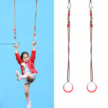 Hanging Rings Swing toy fitness equipment tool outdoor gymnastics(China)