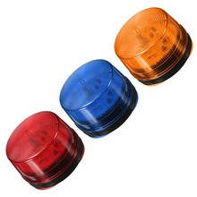Red/blue/orange LED Flash Siren 12V Security Light Alarm Strobe Warning Alert Lamp Singal