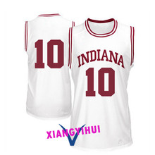 2017 Indiana Jager #10 College Basketball Jersey -Ang Logo Ang Name Can Customized