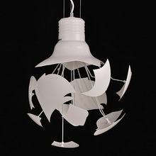 Hou Ge creative light pendant lamp modern art living room bedroom light, simple decoration restaurant lighting YA72718(China)