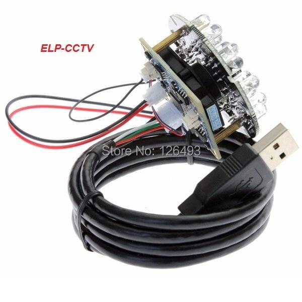 480P  Free driver VGA CMOS OV7725  High speed usb 2.0 night vision mini IR  infrared cctv usb camera module<br>