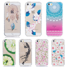 Soft TPU Silicone Anti-skid Cases for iPhone 5SE iphone55s 5G 55S/iPod Touch 5 5th 5G Touch 6 6th cases Phone cover skin Housing