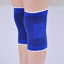 2 x Elastic Neoprene Sport Safety Knee Brace Pads Volleyball Joints Muscles Support Strap Elbow Guard Protector Injury Sprain FS(China)