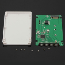 44 Pin M.2 NGFF SATA SSD to 2.5 IDE SATA SSD Converter SATA Adapter Card IDE Adaptor Convertor B+M Key(China)