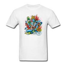 Men  Christian Holyee Tee Shirts XS-3XL Boarding Vishnu man T-Shirt Short Costumes Company
