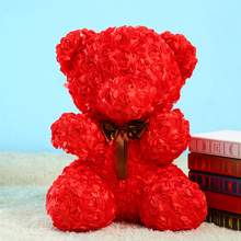 1314 Flowers Giant Plush Toy Bear Hot Sale For Girls Gift Romantic Bear Teddy Knuffel Doll Valentine'S Day Gift Present 50T0074(China)