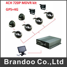 Factory Price Vehcile Mobile Dvr 4G GPS Car Blackbox real time digital video recorder(China)