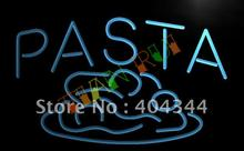 LB304- OPEN Pasta Cafe Restaurant Pizza LED Neon Light Sign(China)