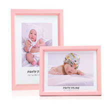 ZUCZUG Children Colorful Photo Frames European Creative Picture Frames Plastic Frame Multiple Colors Suitable For Family Studio