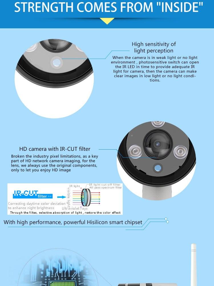 C63S WiFi Security camera