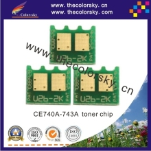 (CS-DH5520) toner cartridge reset chip for HP Color LaserJet CP-5525 CP-5525n CP-5525dn CP-5525xh CP 5525xh bkcmy free dhl(China)