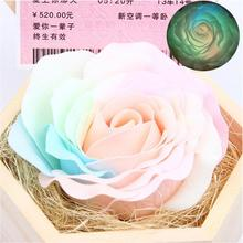 Soap Rose with Box Flower Eternal Flowers Luminous Colorful Roses Party Gift