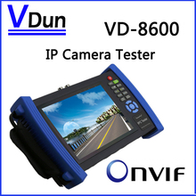 VD-8600 7 inch Touch Screen IP Camera  CCTV  Security Tester  IPC Tester Support ONVIF/1080P HD camera/  HDMI / WIFI / POE.etc