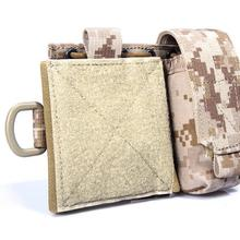 Pouch CORDURA FLYYE Molle-Map Tactical Military Hunting Hiking Outdoor Climb Combat C015
