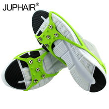 JUP Ultra-light Portable Silicone Anti-skid Crampons Winter Outdoor Snow Anti-skid Snow Board Shoe Cover ice Claw Walking Shoes