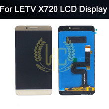 For Letv X720 LCD 100% tested 5.5 inch display with touch screen digitizer Assembly replacement parts free shipping