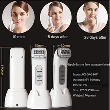 Portable Rechargeable Biopolar High Frequency Radio Wave Microcurrent Skin Rejuvenation Facial Skin Treatment Machine(China)