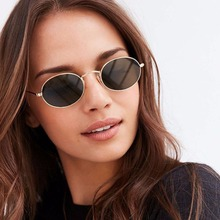 Winla Polarized Sunglasses Classic Metal Frame Oval Style Shades Vintage Brand Designer Ultra-light Sunglasses Women Men WL1019