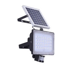 10W 20W 30W 50W solar flood light PIR motion sensor 12V 24V solar powered lamps with solar panels for outdoor garden patio