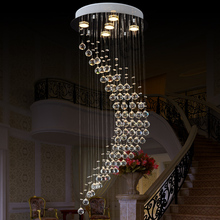 VALLKIN Large Crystal Chandelier 5 Lamps Luxury Crystal Light Fashion Chandelier Crystal Light Modern Clear chandeliers(China)