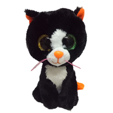 Ty Beanie Boos Original Big Eyes Plush Toy Doll Child Brithday 10 - 15cm Black Cat TY Baby For Kids Gifts